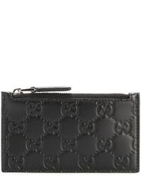 Bolso con cremallera negro de Gucci