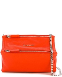 Bolso de cuero naranja de Givenchy