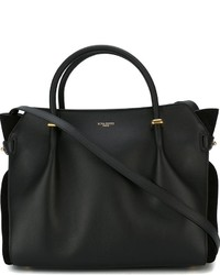 Bolso de cuero negro de Nina Ricci