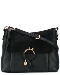 Bolso de cuero negro de See by Chloe