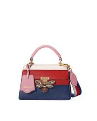 Bolso de hombre de cuero en multicolor de Gucci