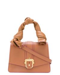 Bolso de hombre de cuero marrón claro de Paula Cademartori