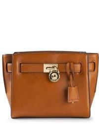 Bolso de hombre de cuero marrón de MICHAEL Michael Kors
