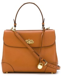 Bolso de hombre de cuero marrón de Ralph Lauren