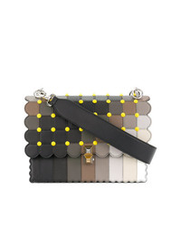 Bolso de Hombre de Cuero Multicolor de Fendi