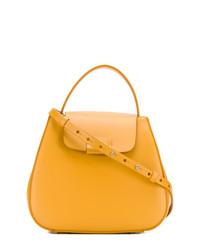 Bolso de hombre de cuero naranja de Nico Giani