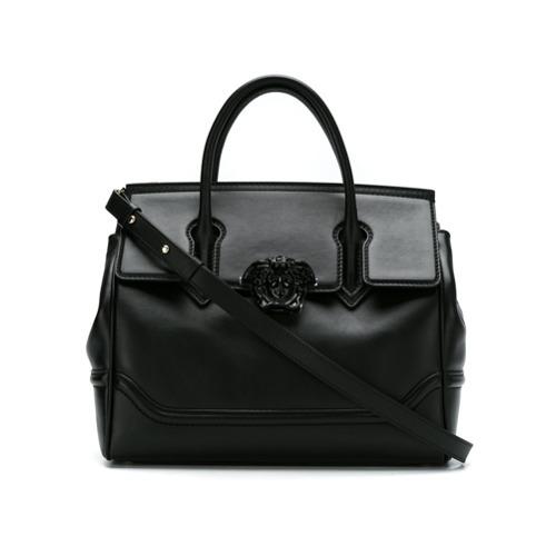nuevo estilo a3acc 320ec MEX$48,972, Bolso de hombre de cuero negro de Versace