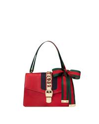 Bolso de hombre de cuero rojo de Gucci