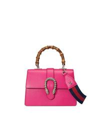 Bolso de hombre de cuero rosa de Gucci