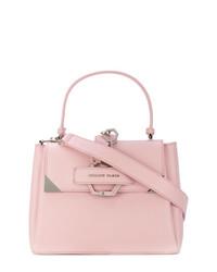 Bolso de hombre de cuero rosado de Philipp Plein