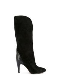 Botas a media pierna de ante negras de Givenchy