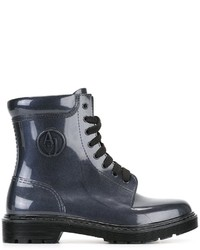 Botas Azul Marino de Armani Jeans