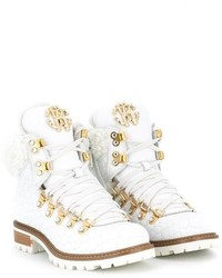 Botas blancas de Roberto Cavalli