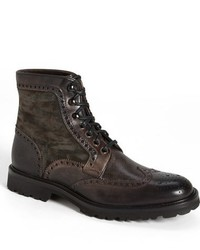 Botas brogue de ante original 6703440