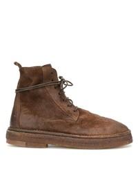Botas casual de ante marrónes de Marsèll