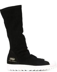 Botas casual de ante negras de adidas