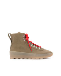 Botas casual de cuero marrónes de Fear Of God
