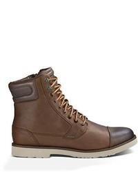 Botas casual de cuero marrónes de Teva