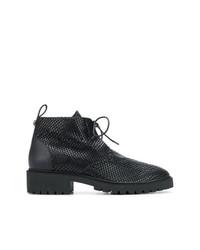 Botas casual de cuero negras de Giuseppe Zanotti Design