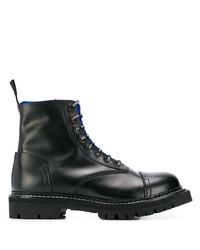 Botas casual de cuero negras de Kenzo