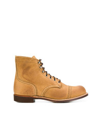 Botas Casual de Cuero Tabaco de Red Wing Shoes