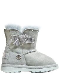 Botas de ante grises