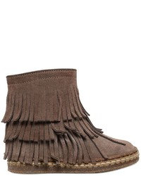 Botas de ante marrónes