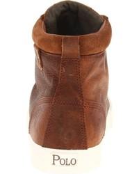 Botas de ante rojas de Polo Ralph Lauren