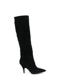 Botas de caña alta de ante negras de Kendall & Kylie