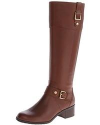 Botas de caña alta de cuero marrónes de Bandolino