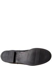 Botas de caña alta de cuero negras de Aldo