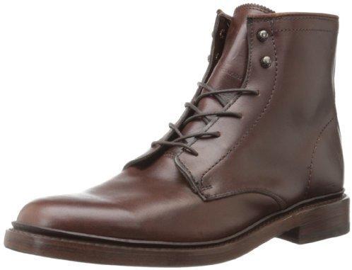 Botas de cuero en marrón oscuro de Frye