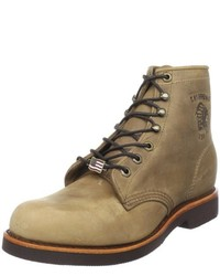 Botas de cuero marrón claro de Chippewa