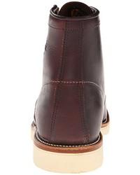 Botas de Cuero Marrón Oscuro de Chippewa