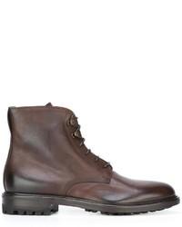 Botas de cuero marrónes de Doucal's