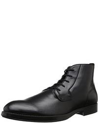 Botas de cuero negras de Calvin Klein
