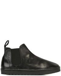 Botas de goma negras de Marsèll