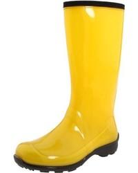 Botas de lluvia amarillas de Kamik