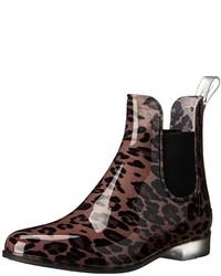 Botas de Lluvia de Leopardo Marrónes de LifeStride