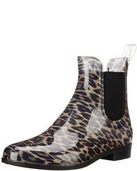Botas de Lluvia de Leopardo Marrónes de Sam Edelman