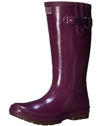 Botas de lluvia morado de Helly Hansen