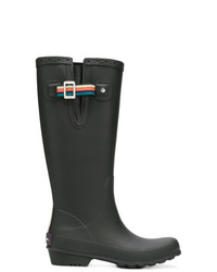 Botas de Lluvia Negras de Ps By Paul Smith
