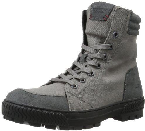 Botas de lona en gris oscuro de Levi's