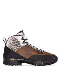 Botas de trabajo de cuero marrónes de Roa