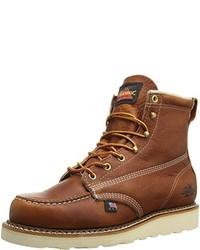 Botas de trabajo de cuero marrónes de Thorogood