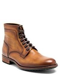 Botas formales de cuero marrón claro de Magnanni