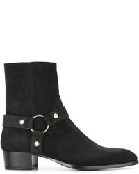 Botas formales negras de Saint Laurent