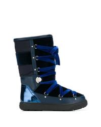 Botas para la nieve azul marino de Moncler