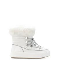Botas para la nieve blancas de Chiara Ferragni