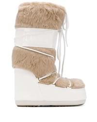 Botas para la nieve blancas de Moon Boot